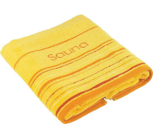 SAUNATUCH - Gelb, KONVENTIONELL, Textil (70/200cm) - Esposa
