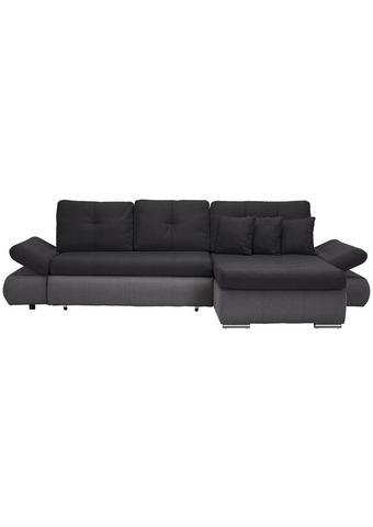 SEDACÍ SOUPRAVA, textil, světle šedá, tmavě šedá - tmavě šedá/světle šedá, Design, textil/umělá hmota (302/187cm) - Carryhome
