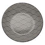 SUPPENTELLER 20,3 cm  - Schwarz/Weiß, Trend, Keramik (20,3cm) - Novel