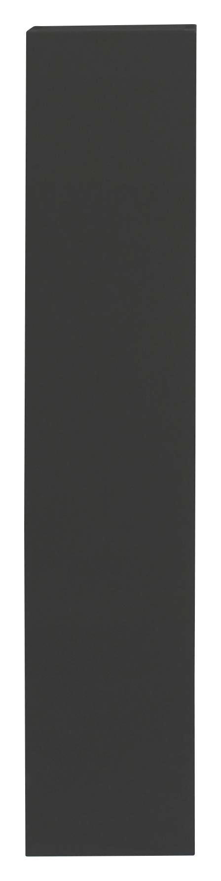HÄNGEELEMENT Anthrazit - Anthrazit, Design, Holzwerkstoff (139/29/31cm) - Carryhome