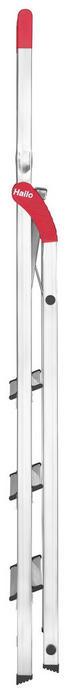 LEITER - Alufarben, Basics, Metall (46/159/90cm) - Hailo