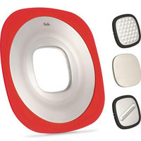 Q! Multitalent-Küchenhelfer! - Rot/Schwarz, Basics, Kunststoff/Metall (30/30/2cm) - Fissler