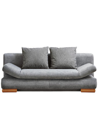 ROZKLÁDACÍ POHOVKA, šedá, textil, - šedá, Design, dřevo/textil (200/87/93cm) - Venda