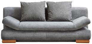 SCHLAFSOFA in Textil Grau - Grau, Design, Holz/Textil (200/87/93cm) - Venda
