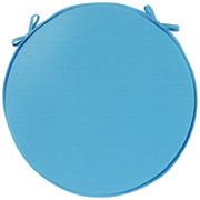 SITZKISSEN 40/40/3 cm - Türkis, Basics, Textil (40/40/3cm) - Esposa