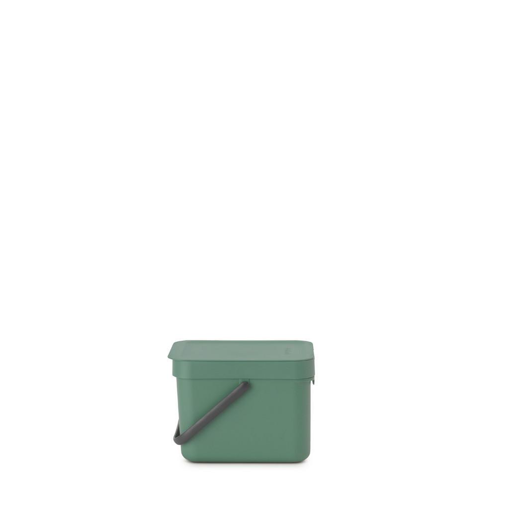 Image of Brabantia Abfalleimer metall , 129841 , 6 l , 20x18.1x24.9 cm , 003394045201