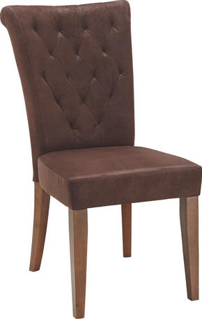 STOL - brun, Lifestyle, trä/textil (52/99/70,50cm)