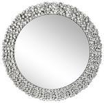 SPIEGEL Silberfarben  - Silberfarben, Design, Glas/Holzwerkstoff (80/80/1,9cm) - Xora