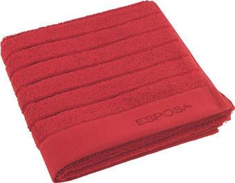 HANDTUCH - Rot, Basics, Textil (50/100cm) - Esposa