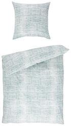 BETTWÄSCHE Renforcé Mintgrün, Weiß 135/200 cm - Weiß/Mintgrün, MODERN, Textil (135/200cm) - NOVEL