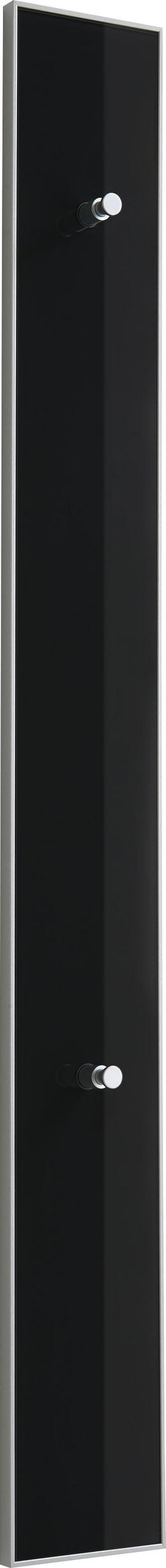 GARDEROBENLEISTE Anthrazit - Anthrazit, Design, Glas (16/140/7cm)