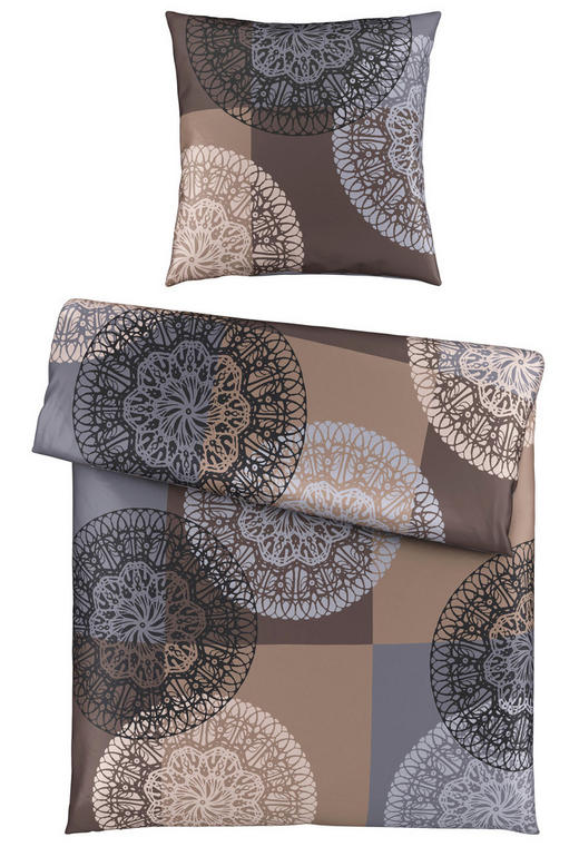 BETTWÄSCHE Satin Rot 135/200 cm - Rot, Design, Textil (135/200cm) - Esposa