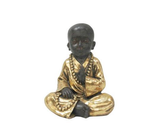 MNICH - černá/barvy zlata, Lifestyle, umělá hmota (13,5/17cm) - Ambia Home