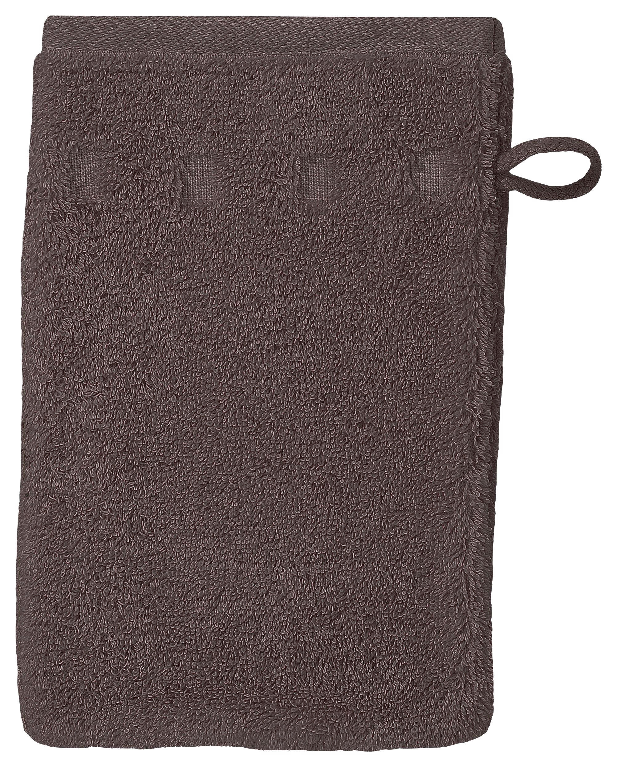 WASCHHANDSCHUH - Grau, Textil (16/22cm) - VOSSEN