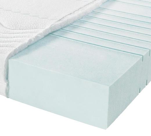KALTSCHAUMMATRATZE 80/200 cm - Weiß, Basics, Textil (80/200cm) - Sembella