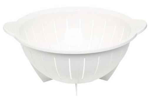 SEIHER - Weiß, Basics, Kunststoff (28cm) - EMSA
