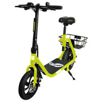E-KLAPPSCOOTER EKS 33 - Gelb, KONVENTIONELL, Metall (123/59/95cm)