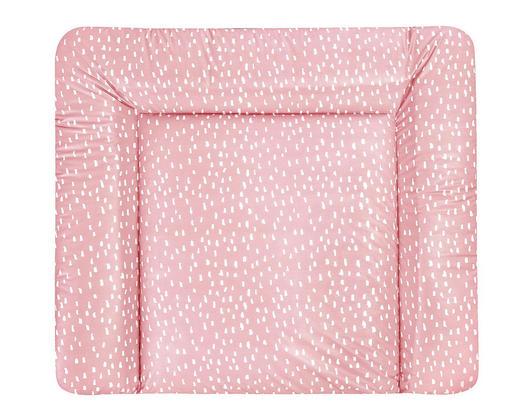 WICKELAUFLAGE Tiny Squares Blush - Altrosa, Basics, Kunststoff (85/75cm) - Zöllner