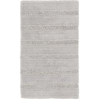 Badteppich in Grau 70/120 cm - Grau, Basics, Kunststoff/Textil (70/120cm) - Kleine Wolke