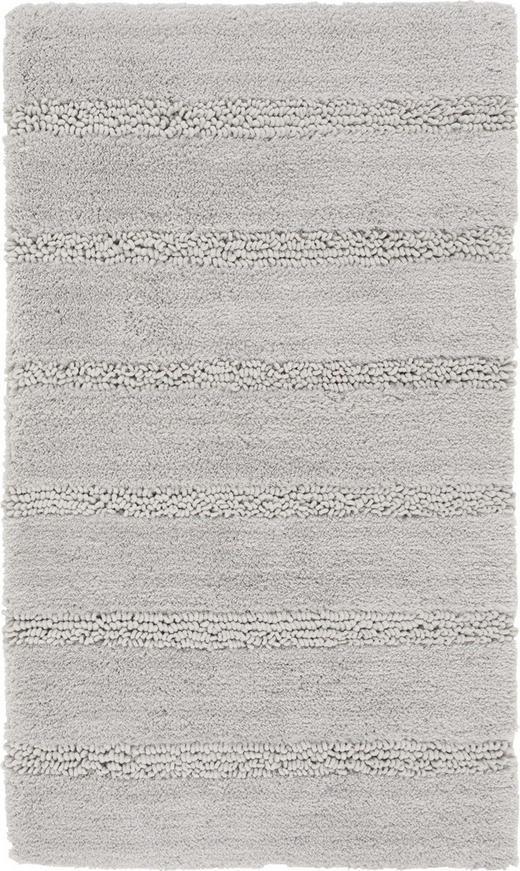 BADTEPPICH in Grau - Grau, Basics, Kunststoff/Textil (60/100/cm) - Kleine Wolke
