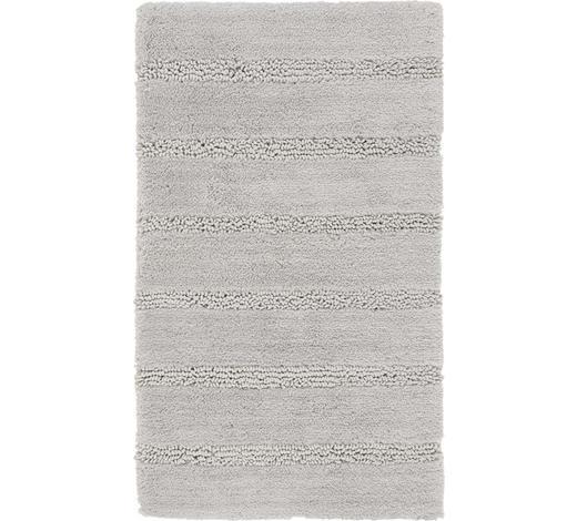 BADTEPPICH in Grau 60/100 cm - Grau, Basics, Kunststoff/Textil (60/100cm) - Kleine Wolke