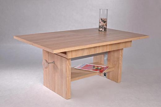 COUCHTISCH rechteckig Eichefarben - Eichefarben, Design (110/65/46cm) - Carryhome