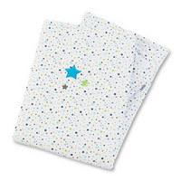 SCHMUSEDECKE 75/100 cm  - Blau/Weiß, Basics, Textil (75/100cm) - Sterntaler