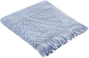DUSCHHANDDUK - blå, Design, textil (70/130cm) - Esposa