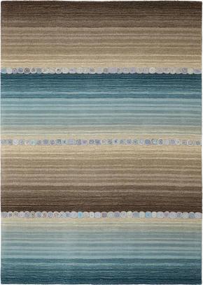 ORIENTALISK MATTA - blå/grå, Klassisk, ytterligare naturmaterial (80/200cm) - Esposa
