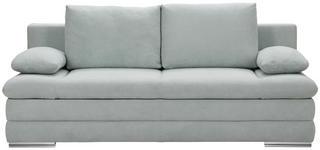 SCHLAFSOFA in Textil Hellgrün  - Chromfarben/Hellgrün, MODERN, Textil (203/90/102cm) - Carryhome