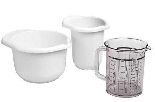 BACKSET - Weiß, Basics, Kunststoff - Emsa