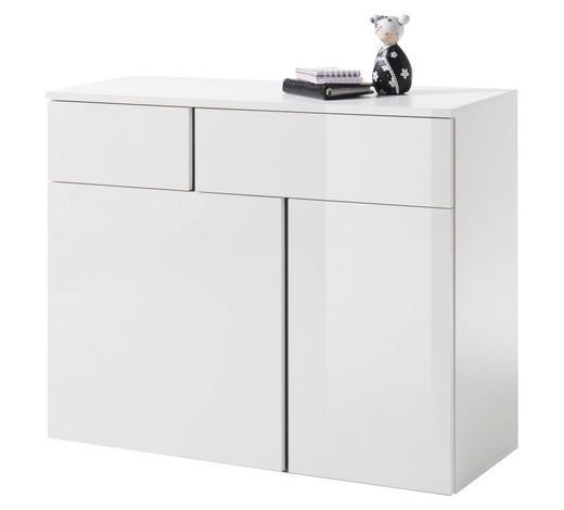 KOMMODE 100/80/37 cm  - Weiß, Design, Holzwerkstoff (100/80/37cm) - Carryhome