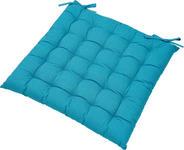 SITZKISSEN - Blau, Basics, Textil (40/40cm) - BOXXX