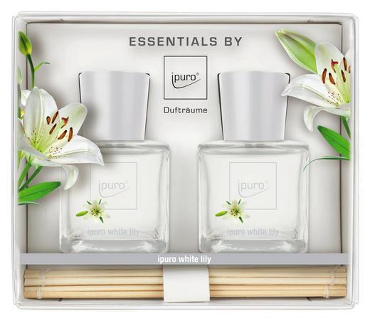 DIFFUSER WHITE LILY - Klar, Basics (15,4/5,5/13,1cm) - Ipuro