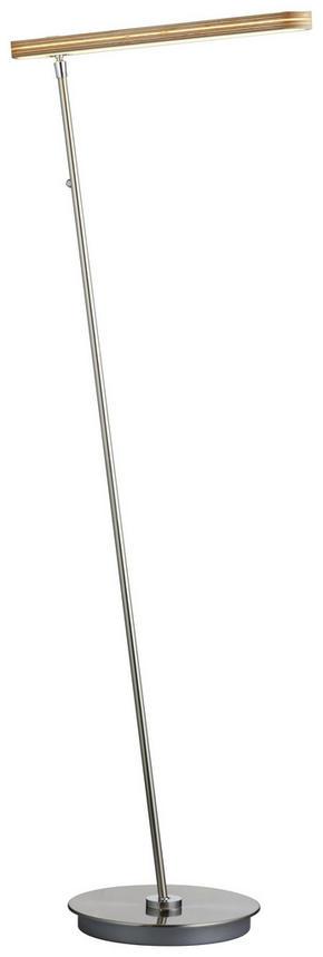 LED-GOLVLAMPA - vit, Design, metall/plast (140cm) - Dieter Knoll