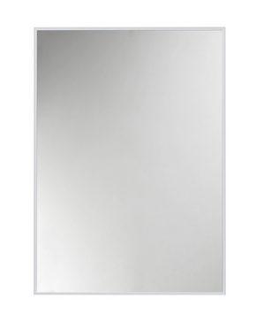 VÄGGSPEGEL - alufärgad/silver, Design, metall/glas (51/71cm)
