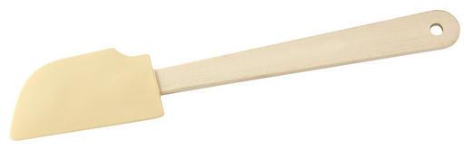 TEIGSCHABER - Creme/Braun, Basics, Holz/Kunststoff (5/25cm)