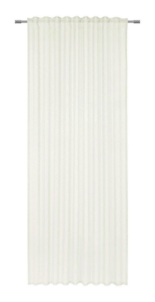 FERTIGVORHANG  halbtransparent   140/245 cm - Weiß, KONVENTIONELL, Textil (140/245cm) - Esposa
