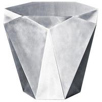 COUCHTISCH in Metall 60/54/50 cm - Alufarben, Design, Metall (60/54/50cm) - Bretz