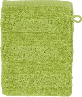 TVÄTTHANDSKE - grön, Natur, textil (16/22cm) - Linea Natura