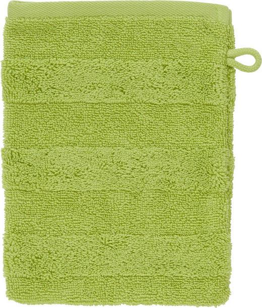 WASCHHANDSCHUH  Grün - Grün, Basics, Textil (16/22cm) - Linea Natura