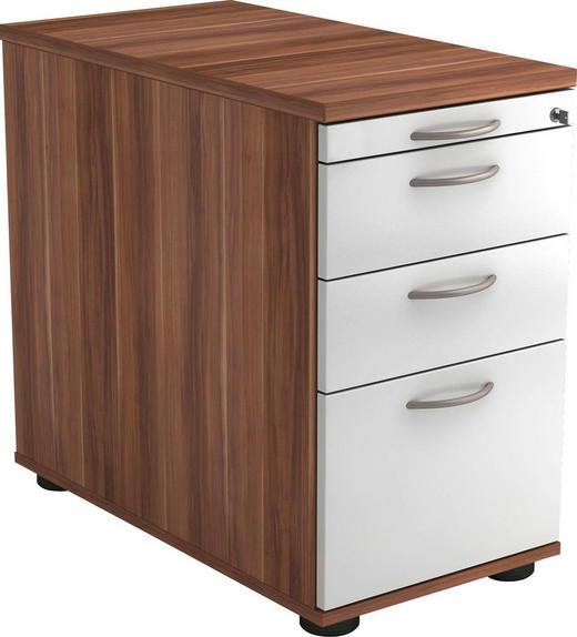 CONTAINER - Zwetschgefarben/Alufarben, KONVENTIONELL, Holzwerkstoff/Kunststoff (42,8/72-76/80cm)