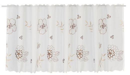 KURZGARDINE   150/48 cm - Braun, Basics, Textil (150/48cm) - Esposa