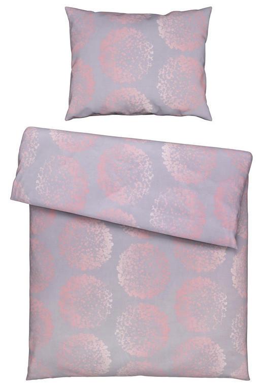 BETTWÄSCHE 140/200/ cm - Rosa/Grau, LIFESTYLE, Textil (140/200/cm) - Estella