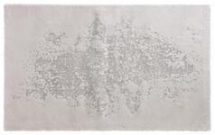 BADTEPPICH in Silberfarben 60/100 cm - Silberfarben, Design, Kunststoff/Textil (60/100cm) - Ambiente
