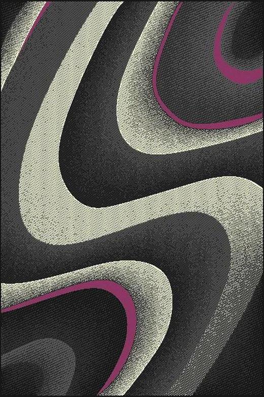 WEBTEPPICH  160/225 cm  Beige, Grau, Violett - Beige/Violett, Trend, Textil (160/225cm) - Boxxx
