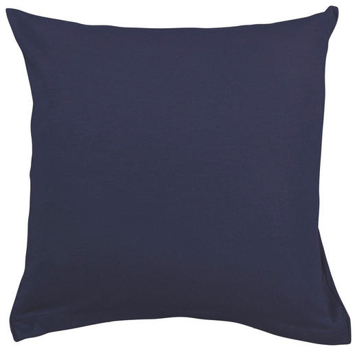 KISSENHÜLLE Dunkelblau 80/80 cm - Dunkelblau, Basics, Textil (80/80cm) - SCHLAFGUT