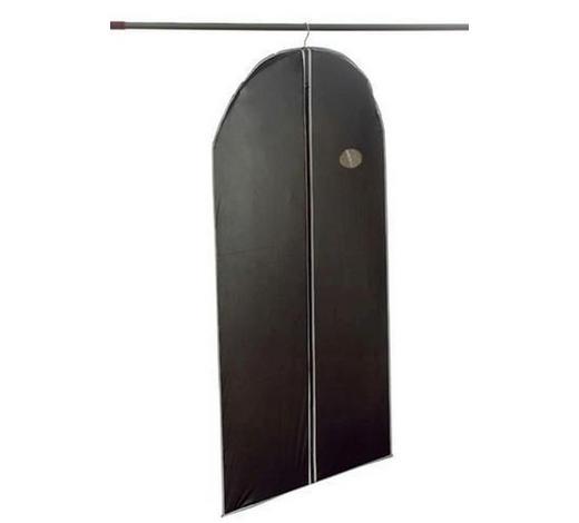 VREČA ZA OBLAČILA 290286 - siva/črna, Basics, tekstil (100/60cm)