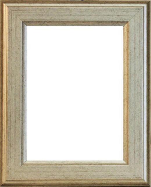 BILDERRAHMEN in Silberfarben - Silberfarben, Basics, Holz (46/36/1.8cm)