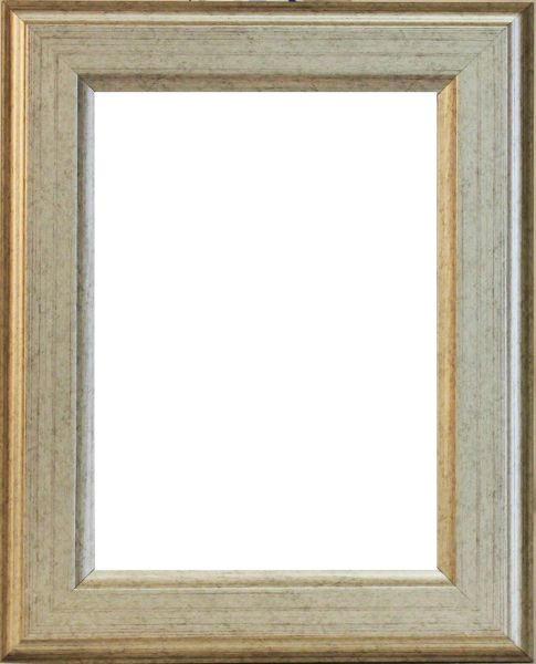 RÁM NA OBRAZY - barvy stříbra, Basics, dřevo (46/36/1.8cm)
